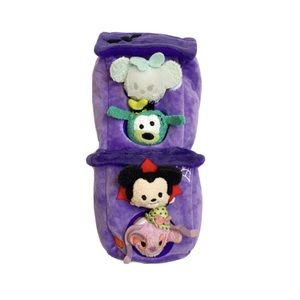 Disney purple haunted house tsum tsum plush set